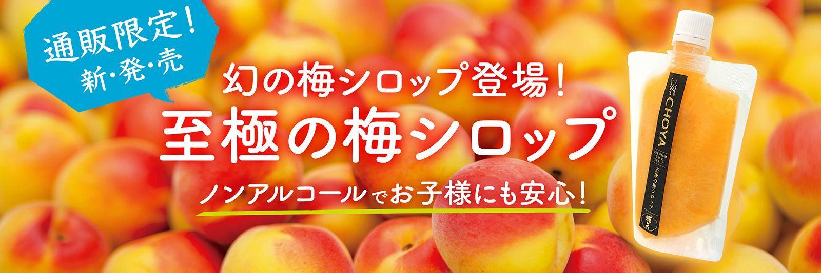 CHOYA至極の梅シロップ