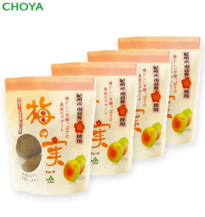 画像1: チョーヤ 梅酒のうめ 『 甘漬け梅の実 200g×4袋 』  大粒の紀州産南高梅100%使用 スイーツ デザート (1)